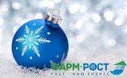 Компания «Фарм-РОСТ» поздравляет Вас с наступающим Новым Годом!